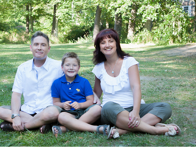 Dr. Nicole Wilbraham and Family